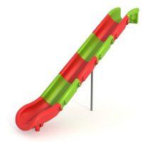 Venta de toboganes. Accesorios para parques infantiles. Tobogán modulable multicolor para áreas de juegos en exteriores. Ocio infantil.
