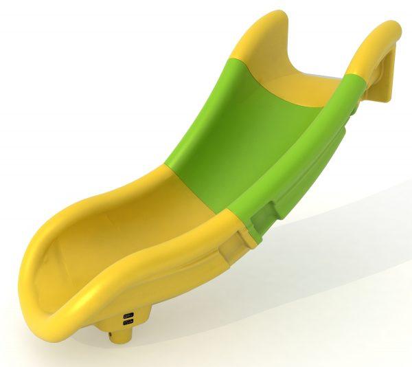Toboganes juegos al exterior. Accesorios para parques infantiles. Tobogán modulable multicolor para parques infantiles en exteriores.