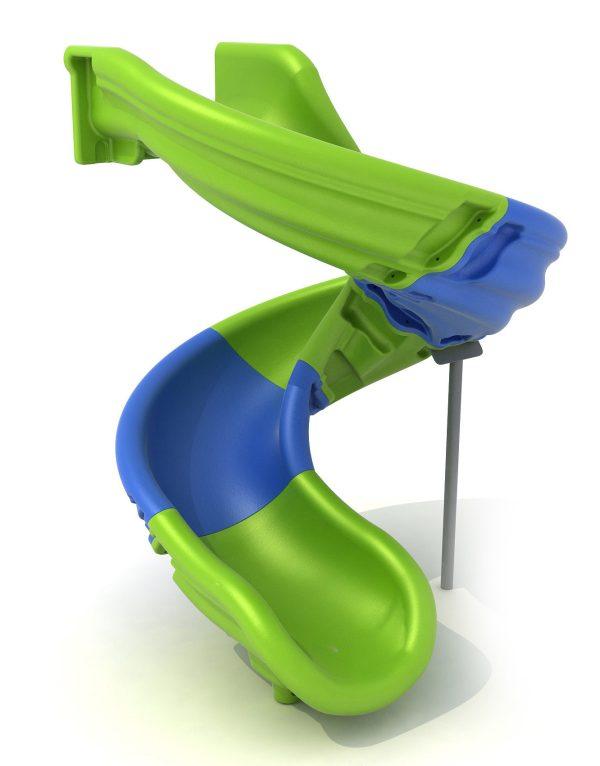 Comprar toboganes infantiles. Accesorios para parques infantiles. Tobogán modulable multicolor para áreas de juegos en exteriores.
