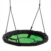 Asiento infantil de tela. Venta de columpio nido para parques infantiles. Asiento con cuerdas para juegos y ocio infantil al exterior.